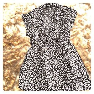 Forever 21 Women's Cheetah Print Dress