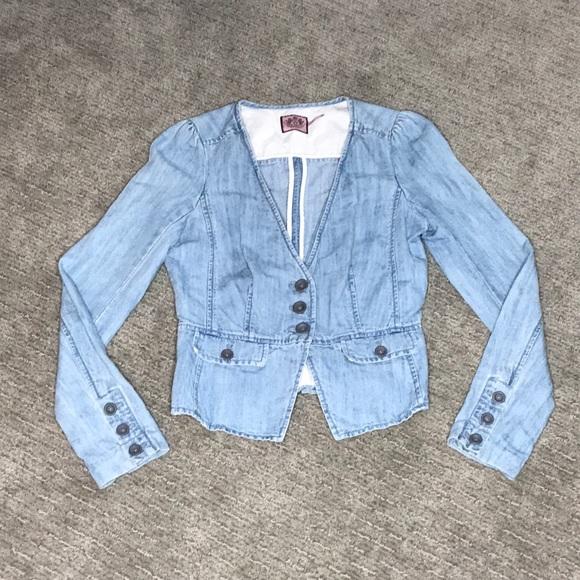 Juicy Couture Jackets & Blazers - Juicy Couture Light Denim Blazer