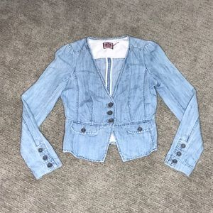 Juicy Couture Light Denim Blazer