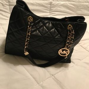 Michael kors quilted tote