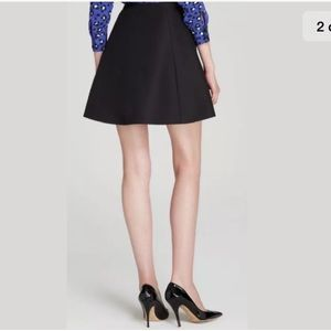 Kate spade Saturday Black Wool Circle Skirt Size 4