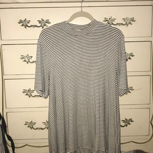 Striped short sleeve