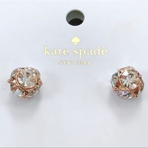 Kate Spade Rose Gold Lady Marmalade Stud Earrings
