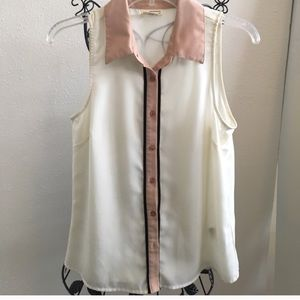 👚UO Coincidence & Chance sleeveless blouse 👚