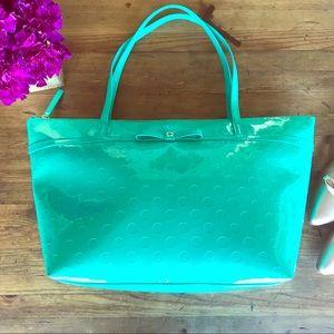 Kate Spade Teal Tote NWT Sophie Designer Handbag