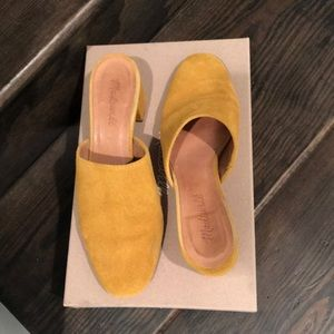Madewell Suede Mules