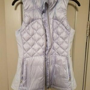 gorgeous lululemon lavender puffy vest