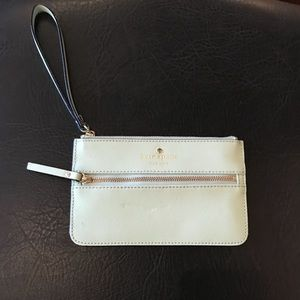 Light blue Kate Spade wristlet
