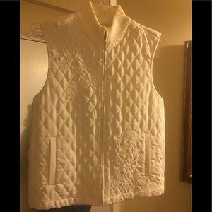 NWOT Alfred Dunner Vest