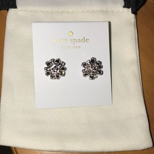 Brand New Kate Spade Bourgeois Bow Earrings