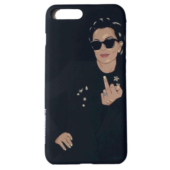 quality design bfdb8 5c7b1 Kylie Jenner Shop Kris Jenner iPhone 7/8 plus case