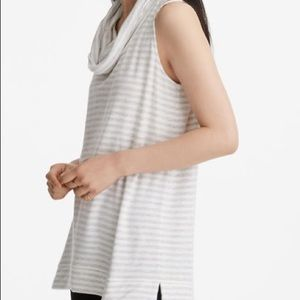 Lou & Grey Striped Signaturesoft Sleeveless Tunic