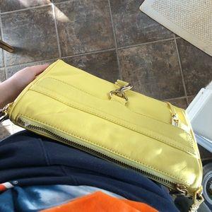Pale Yellow Rebecca Minkoff MAC Crossbody Bag