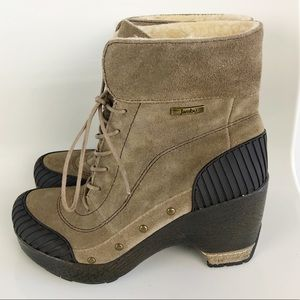 Jambu Netherlands Leather Booties