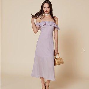Reformation purple dress size 4