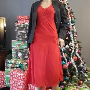 Kroshetta Papillon red dress