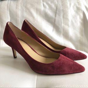 e8d44f34c73 Ann Taylor Shoes - Ann Taylor Eryn Suede Pumps