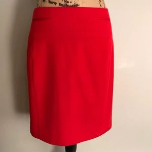 Express Red Pencil Skirt