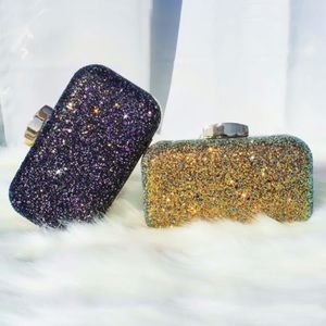 Glittered Clutch! Perfect for any occasion!