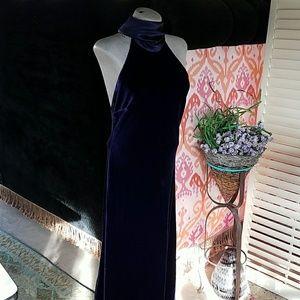 LAUREN Ralph Lauren formal gown sz 8 S M velvet