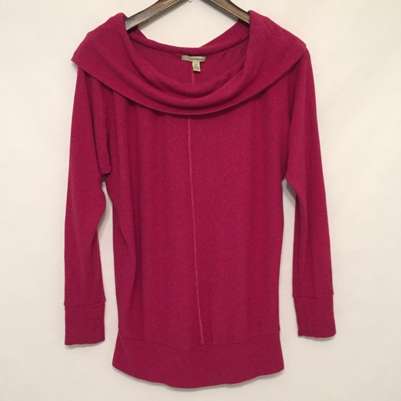 Anthropologie - Bordeaux for Anthropologie Dark Pink Sweater from ...