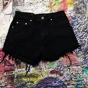 Levi's silver tab cut-off jean shorts. 29