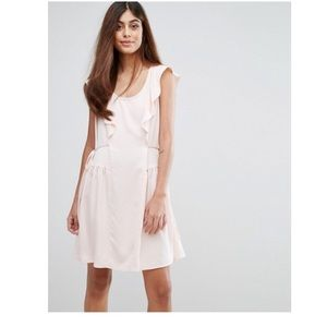 [French Connection] Nia Drape Capped Sleeve Dress