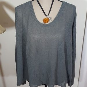 EILEEN FISHER KNITTED  SWEATER !