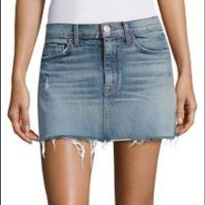 Guess mini jean skirt