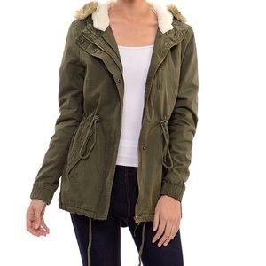 AMBIANCE - Anorak Military Hooded Jacket