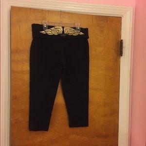 VS crop leggings size medium