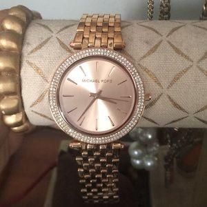 Michael Kors Darcy Rose Gold Watch