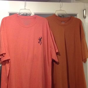 Other - Browning &Gildan 2 XL Tshirts good condition