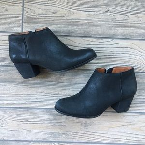 Lucky Brand Ankle Booties Boots Size Leather 6.5