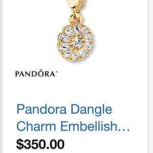 14k gold pandora charm
