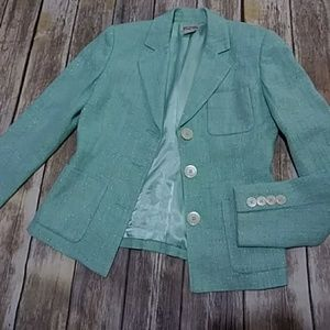 Womens Michael Kors Tweed Blazer Size 4