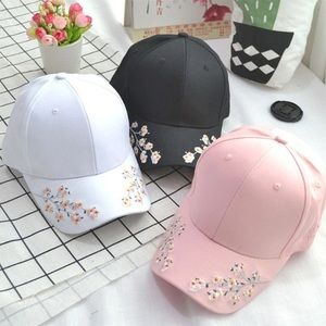 🌸FLORAL EMBROIDERY BASEBALL HAT🌸