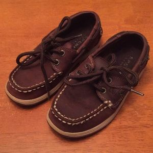 Boys Sperry Topsiders
