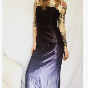 Black and Silver Hombre Gown