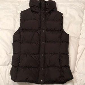 JCrew vest, brown, like new