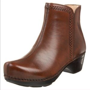 DANSKO Scout brown leather ankle boots sz 37