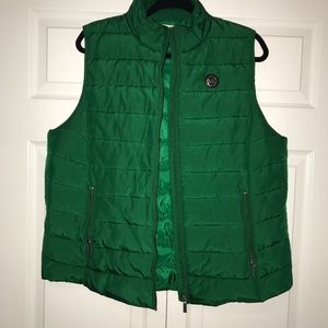 Michael Kors Green Vest