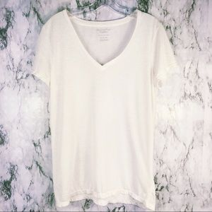 American Eagle | Favorite Tee white & Rose Gold