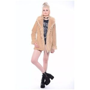Vintage Penny Lane Coat Shearling Wilson's Leather