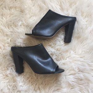 Black Mule Heel