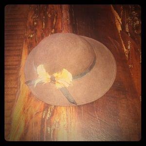 Vintage Brown Tally Ho Wool Hat