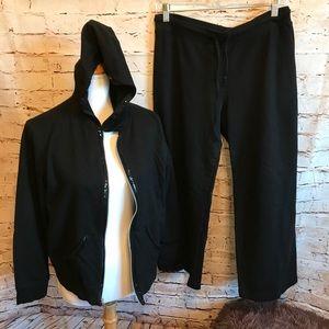 Mia Kaye Track Suite Jacket XLarge, Pants Med