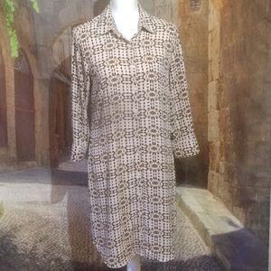 CAbi Shirt dress