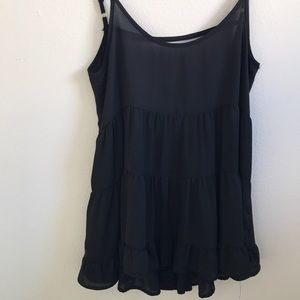 Brandy Melville sheer slip /cover up