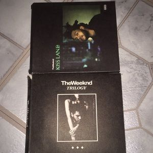 The Weeknd Cds (4)